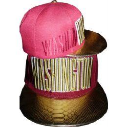 Wholesale Dual Colored Washington DC SnapBack Baseball cap  Hat - at ... d5bdbd916cb1