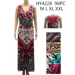 48 Bulk Women's Fashion Romper Assorted Color Prints