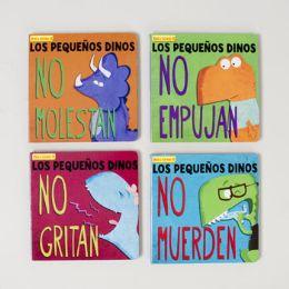 48 Bulk Board Book Spanish Little Dinos