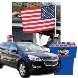 100 Bulk Dsd - Usa Car Flags 100 Per Display