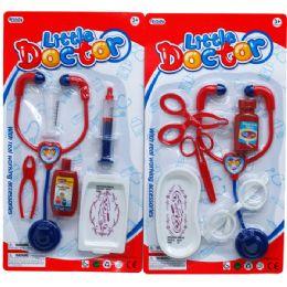 96 Bulk 6pc Little Doctor Play Set In Blister Card
