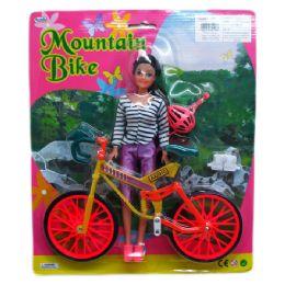 36 Bulk Doll With Mountain Bike