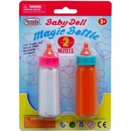 144 Bulk Two Piece Magic Toy Baby Bottle