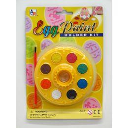 72 Bulk Egg Holder Paint Set
