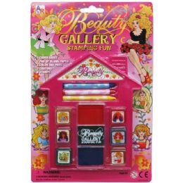 72 Bulk Beauty Gallery Fun Stamping Play Set