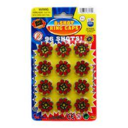 576 Bulk 8-Shot 12-Ring Caps In Blister Pack