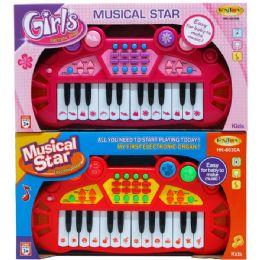"24 Bulk 14"" B/o Musical Star Electronic Organ In Open Box"