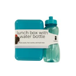 12 Bulk Lunch Box With Water Bottle