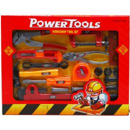 24 Bulk Power Tools Play Set In Window Box