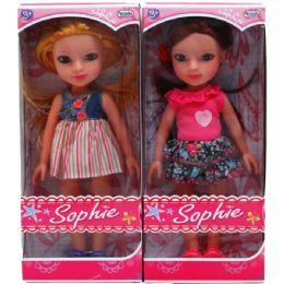 """18 Bulk 12"""" Sophie Doll In Window Box"""