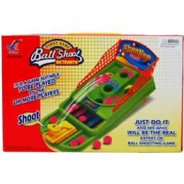 48 Bulk Table Pin Ball Game In Color Box