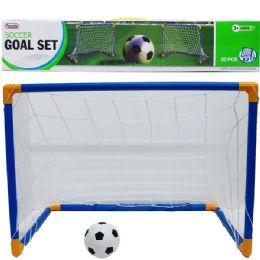 12 Bulk 2pc 25l*18h Soccer Play Set In Color Box