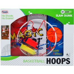 "12 Bulk 19.5"" Width Backboard Basketball Play Set In Window Box"