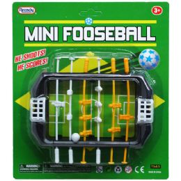 "72 Bulk 5.5"" Mini Fooseball Gameboard In Blister Card"