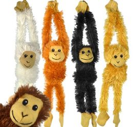 60 Bulk Plush Hanging Monkeys