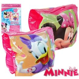 36 Bulk Disney's Minnie Bowtique Armband Floaties.