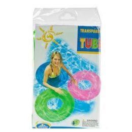 24 Bulk Inflatable Translucent Swim Rings.