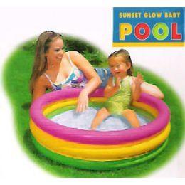 6 Bulk Inflatable Sunset Pools