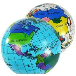 192 Bulk Inflatable World Globes
