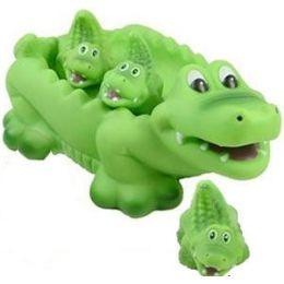 24 Bulk Bath Pals - Alligator Family.