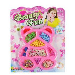 72 Bulk Beauty Fun Bear Bead Kits