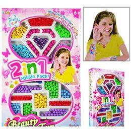 24 Bulk Pretty Girl Jewelry Beading Kits.