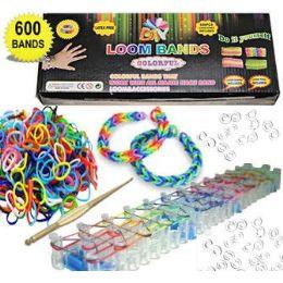 25 Bulk Diy Loom Band Kits.
