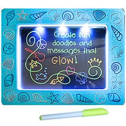 16 Bulk 2-IN-1 Lite Up Doodle Board & Frame