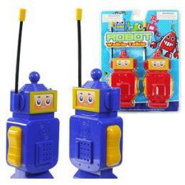 24 Bulk Robot Walkie Talkie Sets