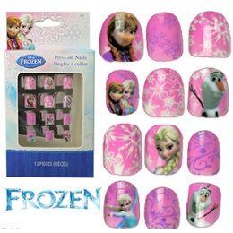 48 Bulk Disney's Frozen Kiddie PresS-On Nails