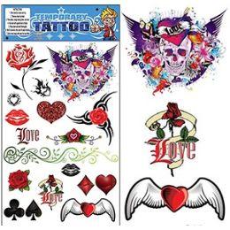200 Bulk Gothic Temporary Tattoos