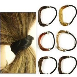 288 Bulk Natural Color Pony Tail Holders