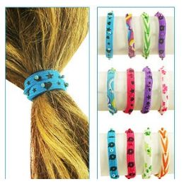 288 Bulk 2-IN-1 Bead Pony Tail Holders /bracelets.