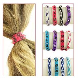 432 Bulk 2-IN-1 Pony Tail Holders /bracelets
