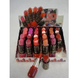 144 Bulk 3d Beautiful Glow Lipstick
