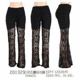 24 Bulk Womans Fashion Pants Assorted Sizes