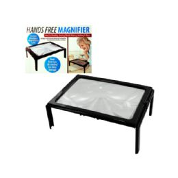 12 Bulk Hands Free Full Page Magnifier