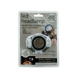 12 Bulk Led Headlamp With 4 Mode Settings