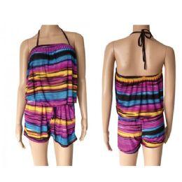 36 Bulk Womans Rompers Outfit Set