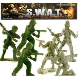 48 Bulk 100 Piece S.w.a.t. Soldiers