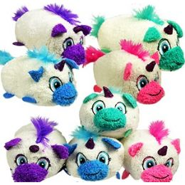 72 Bulk Mini Plush Stackable Unicorns