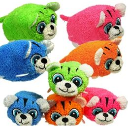 72 Bulk Mini Plush Stackable Tigers