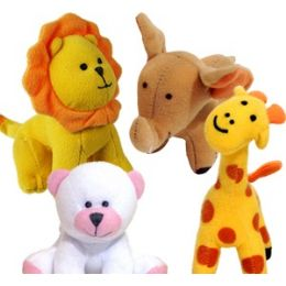 108 Bulk Mini Plush Wild Animals