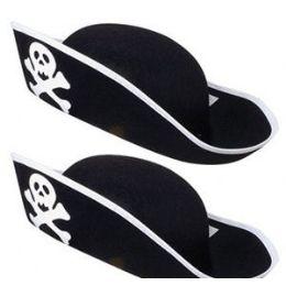36 Bulk Adult Pirate Hats