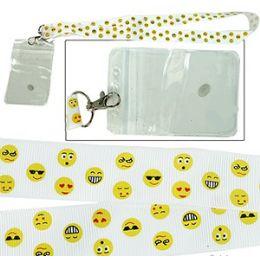 288 Bulk Emoji Lanyard And Id Holders