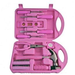 24 Bulk 30 Piece Pink Tool Sets