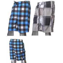 48 Bulk Mens Fashion Swim Shorts