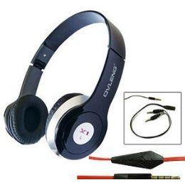 24 Bulk Ovleng X1 Stereo Headphones