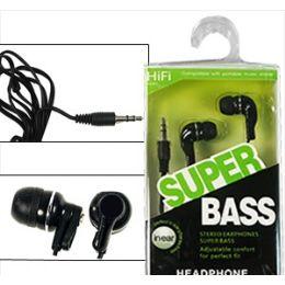 200 Bulk Super Bass Earbuds.