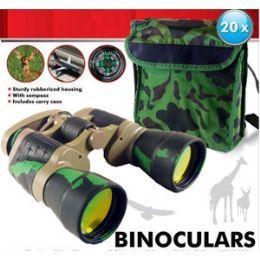 16 Bulk Camouflage Binoculars.